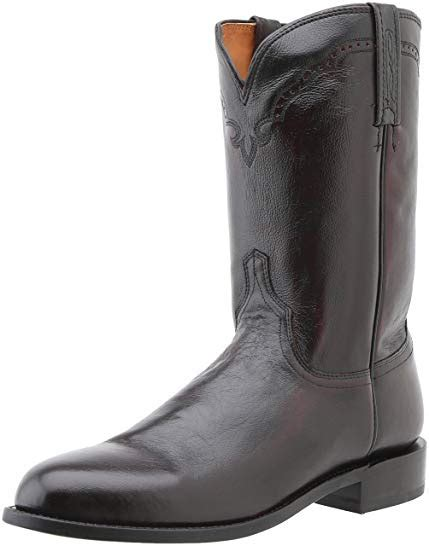 Lucchese Classics Men's Lawrence-blk Lonestar Calf Roper Riding Boot