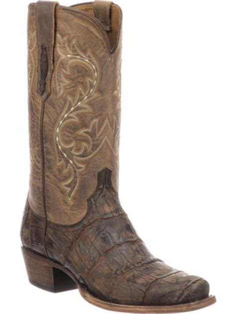 Lucchese Men's Burke Western Boot