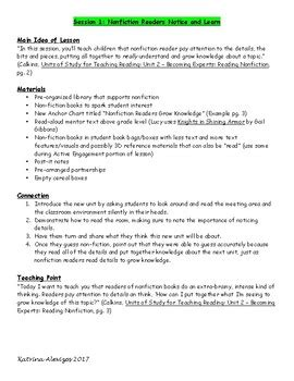 Lucy-Calkins-Reading-Workshop-Lesson-Plans-2nd-Grade