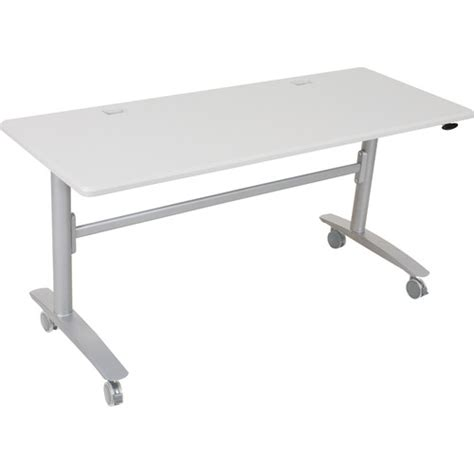 Lumina Conference & Training Tables - Half Round Oak Top