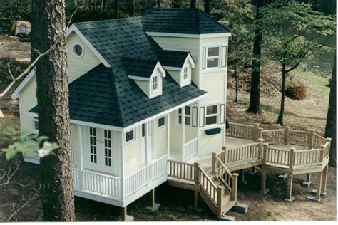 Luxury Playhouses Plans