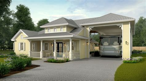 Luxury Rv Garage Plans