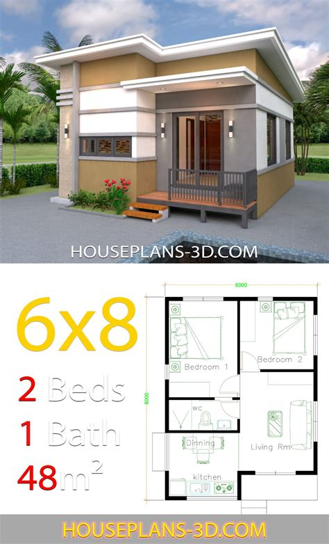 Luxury Small 2 Bedroom House Plans