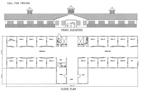 Luxury-Horse-Barn-Floor-Plans