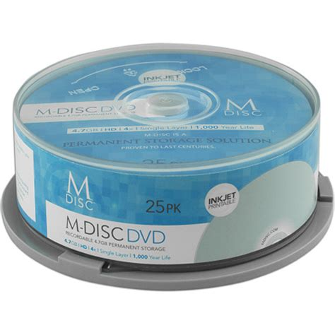 M-DISC Ink Jet (25 Pack)