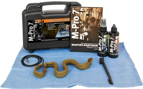 M-Pro 7 Three Gun Cleaning Kit With Boresnakes .