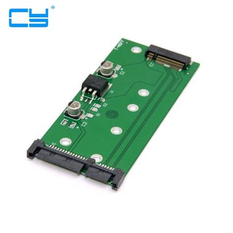 M.2 NGFF PCI-E 2 Lane SSD to 7mm 2.5' SATA 22pin Hard Disk Case PCBA for E431 E531 X 240S Y410P Y510P