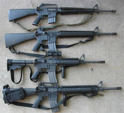 M16 Vs Ar-15 Vs M4  A2 A2 A4  What  S The Difference .