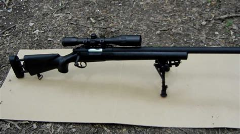 M28 Sniper Rifle Usa Echo 1 And M60 Sniper Rifle Made In Tennessee