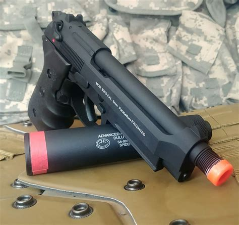M9 Barrel Extension And Nerf Worker Barrel Extension