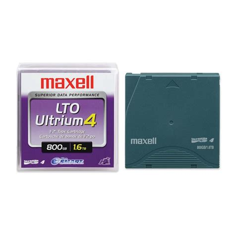MAX183906 - Maxell LTO Ultrium 4 Tape Cartridge