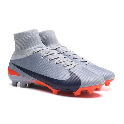 MEN'S MERCURIAL SUPERFLY V FG SOCCER CLEATS (BLACK/WHITE/DARK GREY)