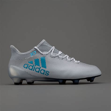 MEN'S X 17.1 FG WHITE/ENERGY BLUE/CLEAR GREY Shoes