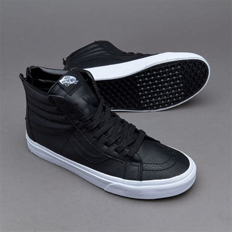 MENS SK8 HI REISSUE LEATHER SHOES