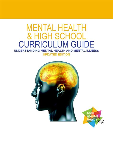 [pdf] Mental Health  High School Curriculum Guide.