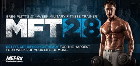 💯 Buy Mft28: Greg Plitts 4-Week Military Fitness Trainer By