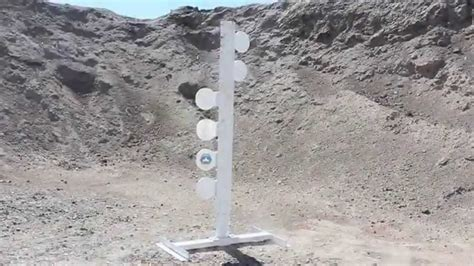 Mgm 6 Plate Dueling Tree Ar 500 Rifle Grade Shield.
