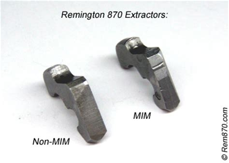 Mim And Non-Mim Extractor For Remington 870 Shotgun.