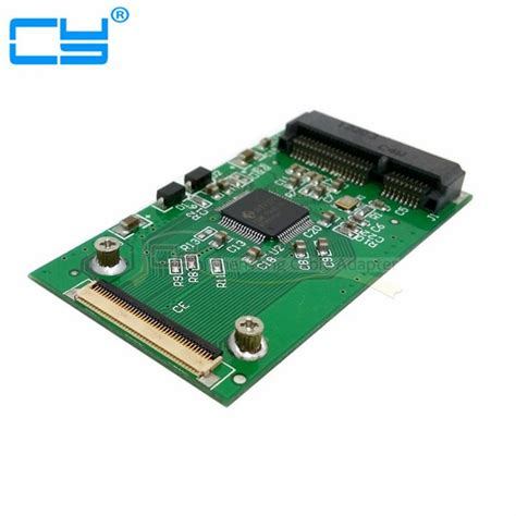 MINI PCI-E mSATA SSD to 40Pin ZIF Card Adapter for Toshiba or Hitachi ZIF CE HDD Hard Disk