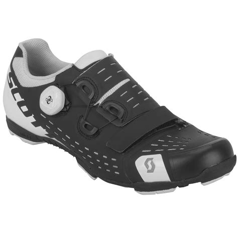 MTB Premium Shoe - Men's Matt Black/Gloss White, 48.0