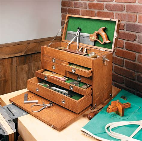 Machinist Wooden Tool Chest Plans