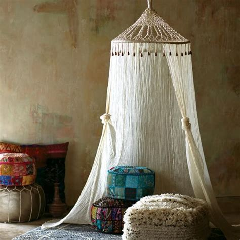 Macrame Bed Canopy Diy Princess