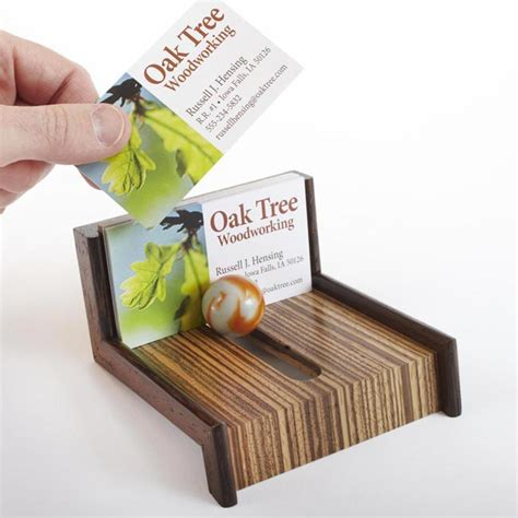 Magazine Business Card Holder Wood Plans