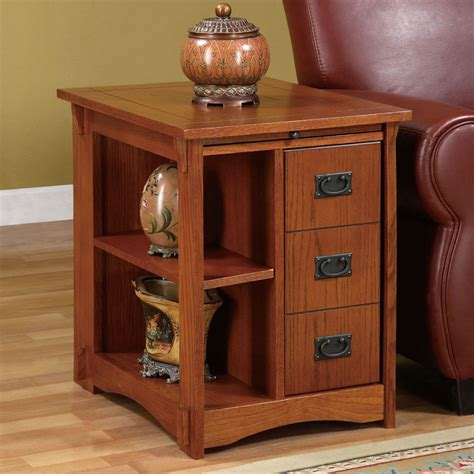 Magazine Cabinet Table