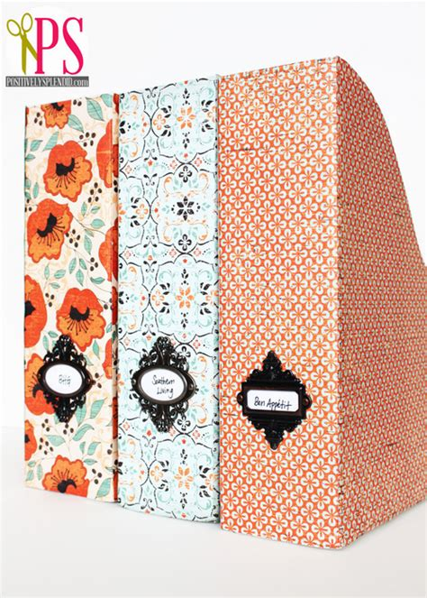 Magazine File Box Diy Crafts