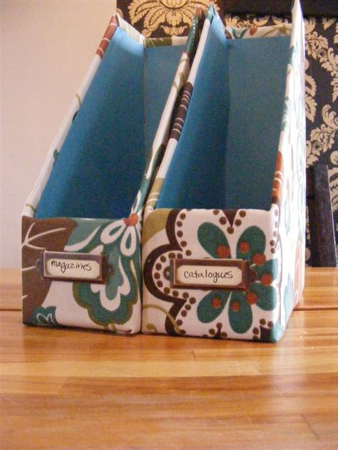 Magazine File Box Diy Design