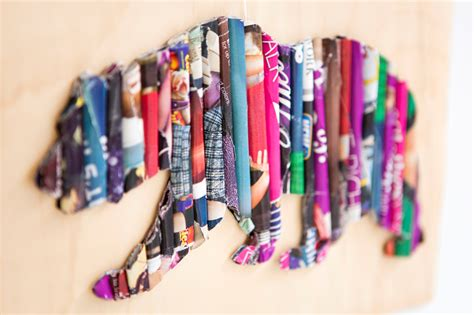 Magazine-Wall-Art-Diy