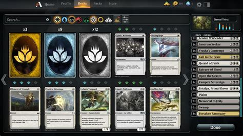 Magic Arena Build Deck