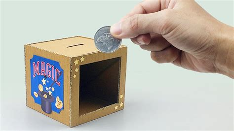 Magic Coin Box Diy Crafts