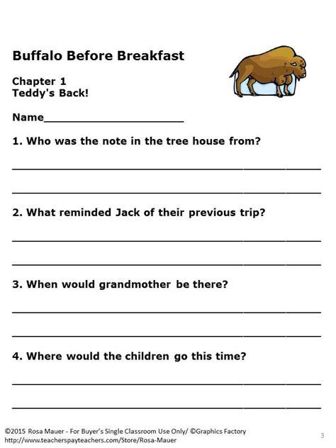Magic-Tree-House-Buffalo-Before-Breakfast-Lesson-Plans