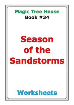 Magic-Tree-House-Season-Of-The-Sandstorms-Lesson-Plans