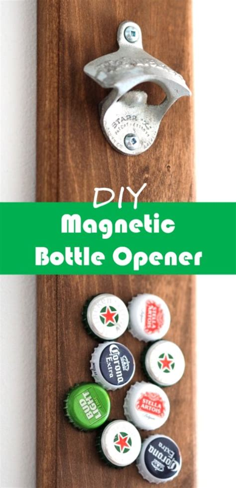 Magnetic Bottle Opener DIY