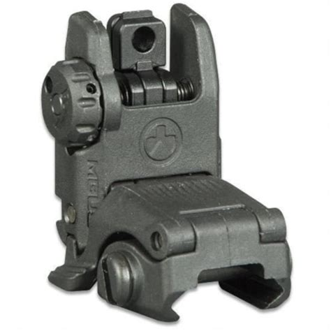 Magpul Mbus Gen 2 Flip-Up Rear Sight Ar-15 Polymer.