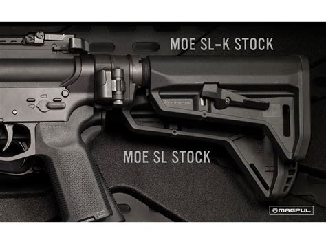 Magpul Stock Moe Sl-K Collapsible Ar-15 Lr-308 Carbine .