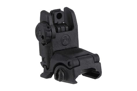 Magpul Mbus Gen 2 Flip Up Rear Sight Black And Magpul Ms2 Sling For Sale