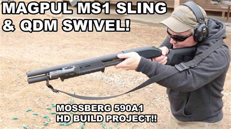 Magpul Ms1 Sling Qdm Swivel 590a1 Build Project And Hipoint Compact 9mm 3 5 Barrel Black Poly Grip Frame 8