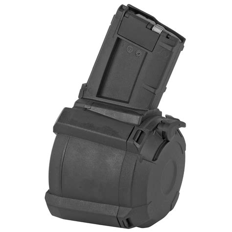 Magpul Pmag D 60 Drum Magazine Ar 15 And 80 Polymer Lower Jigless