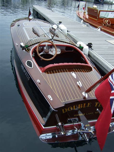 Mahogany Speed Boat Plans
