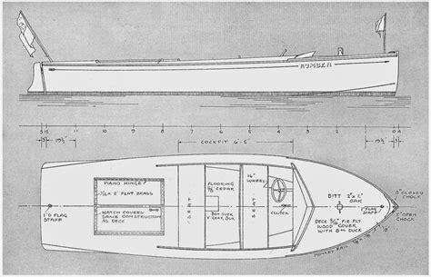 Mahogany-Runabout-Boat-Plans