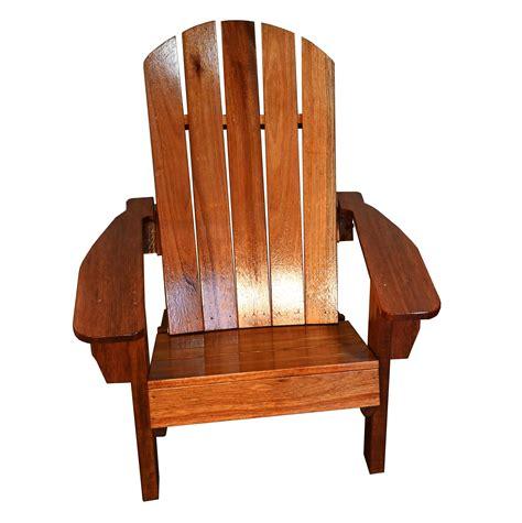 Mahogany-Wood-Adirondack-Chairs