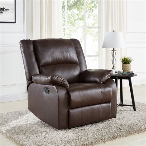 Mainstays Brown Recliner