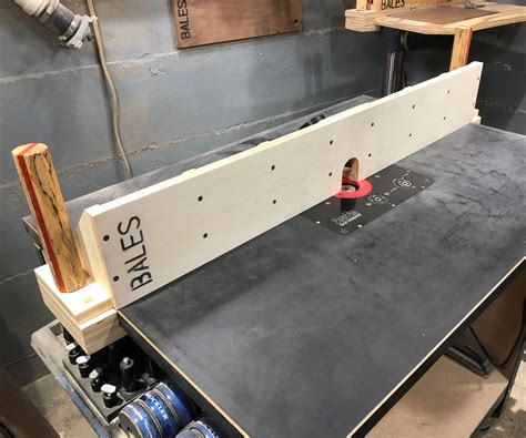 Make A Fence For Router Table