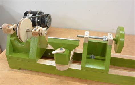 Make A Homemade Wood Lathe