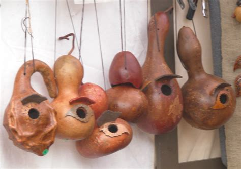 Make Bird House Gourds