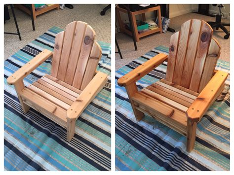 Make Miniature Adirondack Chairs