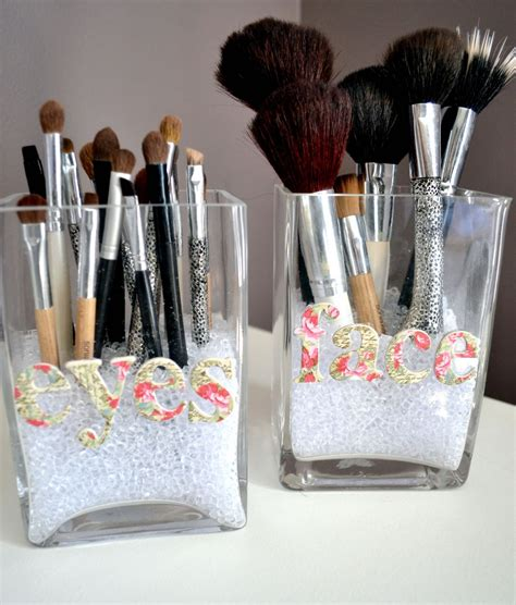 Make Up Storage Brushes Diy Projects